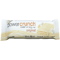BIONUTRITIONAL RES POWER CRUNCH PROTEIN ENERGY BAR VANILLA CREME