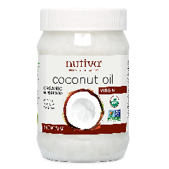 NUTIVA NUTIVA COCONUT OIL EXTRA VIRGIN 15 OZ
