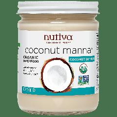 NUTIVA NUTIVA COCONUT MANNA 15 OZ