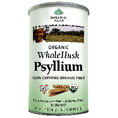 ORGANIC INDIA ORGANIC PSYLLIUM WHOLE HUSK (68 serv) 340 g