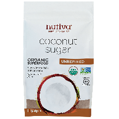 NUTIVA COCONUT SUGAR 16OZ