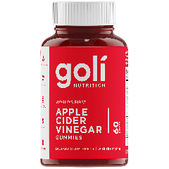 GOLI NUTRITION APPLE CIDER VINEGAR GUMMIES 500 mg (60 gummies)