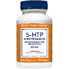 THE VITAMIN SHOPPE 5-HTP W/ VITAMIN B6 100 mg (120 cap)
