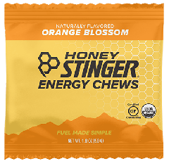 HONEY STINGER ORGANIC ENERGY CHEWS ORANGE