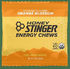 HONEY STINGER ORGANIC ENERGY CHEWS ORANGE