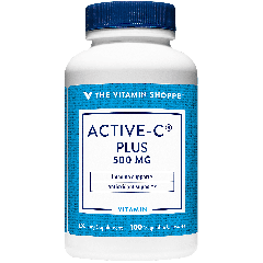 THE VITAMIN SHOPPE ACTIVE-C PLUS VITAMIN C 500 mg (100 cap)
