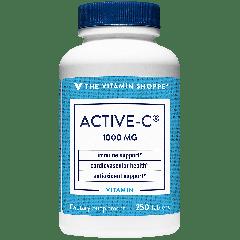 THE VITAMIN SHOPPE ACTIVE-C VITAMIN C 1000 mg (250 tab)