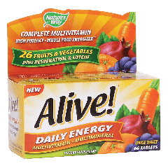 NATURES WAY ALIVE DAILY ENERGY MULTI (60 tab)