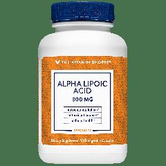 THE VITAMIN SHOPPE ALPHA-LIPOIC ACID 300 mg (120 cap)