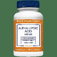 THE VITAMIN SHOPPE ALPHA-LIPOIC ACID 600 mg (60 cap)