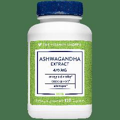 THE VITAMIN SHOPPE ASHWAGANDHA EXTRACT 470 mg (120 cap)