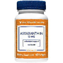 THE VITAMIN SHOPPE ASTAXANTHIN 12 mg (60 soft)
