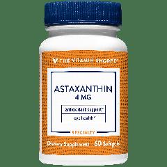 THE VITAMIN SHOPPE ASTAXANTHIN 4 mg (60 soft)