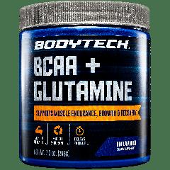 BODYTECH BCAA & GLUTAMINE UNFLAVORED (30 serv)