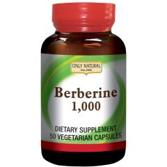 ONLY NATURAL BERBERINE1000 mg (50 veg cap)