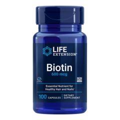 LIFE EXTENSION BIOTIN 600 mcg (100 cap)