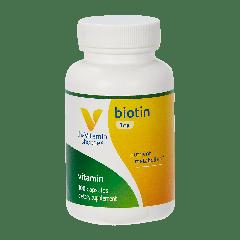 THE VITAMIN SHOPPE BIOTIN 1 mg (100 cap)