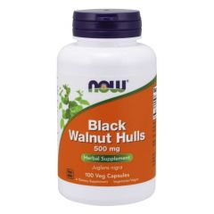 NOW FOODS BLACK WALNUT 500MG CAPS