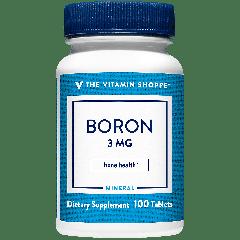 THE VITAMIN SHOPPE BORON 3 mg (100 tab)
