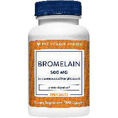 THE VITAMIN SHOPPE BROMELAIN 600 GDU 500 mg (100 cap)