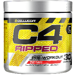 CELLUCOR C4 RIPPED FRUIT PUNCH (30 serv)