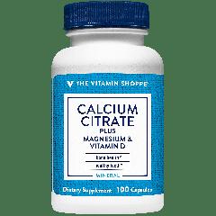 THE VITAMIN SHOPPE CALCIUM CITRATE W/ MAG & VIT D (100 cap)