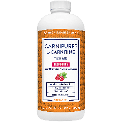 THE VITAMIN SHOPPE CARNIPURE L-CARNITINE RASPBERRY 1100 mg (16 fl oz)