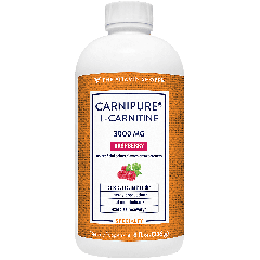 THE VITAMIN SHOPPE CARNIPURE L-CARNITINE RASPBERRY 3000 mg (8 fl oz)