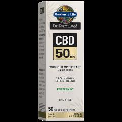 CBD Whole Hemp Extract Liquid Peppermint 50 mg (30 serv) Vitamin Shoppe Panama