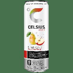 Celsius Sparkling Fuji Apple Pear (12 fl oz)