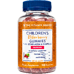 Children Elderberry Gummies con Echinacea Gomitas para niños de saúco sambucus y equinácea con sabor a frambuesa