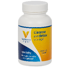 THE VITAMIN SHOPPE CLEANSE AND DETOX W/ ACAI (60 veg cap)