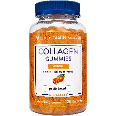 Gomitas de colágeno con sabor naranja The Vitamin Shoppe Panamá Collagen Gummies Orange (120 gummies)