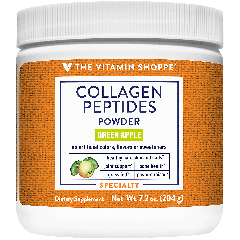 THE VITAMIN SHOPPE COLLAGEN PEPTIDES POWDER GREEN APPLE 5 g (30 serv)