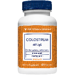 THE VITAMIN SHOPPE COLOSTRUM 40% IGG 475 mg (120 cap)