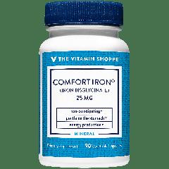 THE VITAMIN SHOPPE COMFORT IRON 25 mg (90 veg cap)