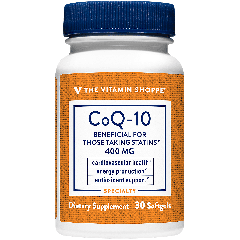 THE VITAMIN SHOPPE COQ-10 400 mg (30 softg)