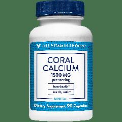 THE VITAMIN SHOPPE CORAL CALCIUM 1500 mg (90 cap)
