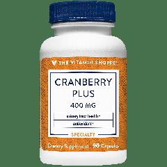 THE VITAMIN SHOPPE CRANBERRY PLUS 400 mg (90 cap)