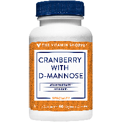 THE VITAMIN SHOPPE CRANBERRY W/D-MANNOSE (60 veg cap)