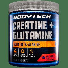 BODYTECH CREATINE + GLUTAMINE FRUIT PUNCH (31 serv)
