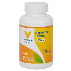 THE VITAMIN SHOPPE DAMIANA LEAVES 450 mg (100 cap)
