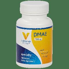 THE VITAMIN SHOPPE DMAE DIMETHYLAMINOETHANOL 130 mg (120 tab)