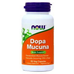 NOW FOODS DOPA MUCUNA (90 veg cap)