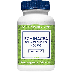 THE VITAMIN SHOPPE ECHINACEA PURPUREA 400 mg (100 cap)