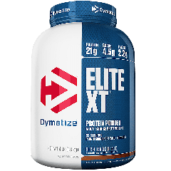 DYMATIZE ENTERPRISES ELITE XT RICH CHOCOLATE (52 serv) 4 lb