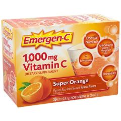 ALACER CORP EMERGEN-C VIT C SUPER ORANGE 1000 mg (30 serv)