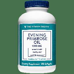 THE VITAMIN SHOPPE EVENING PRIMROSE OIL 1300 mg (120 soft)