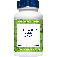 THE VITAMIN SHOPPE FENUGREEK SEED 610 mg (100 cap)