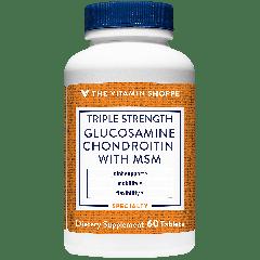 THE VITAMIN SHOPPE GLUCOSAMINE CHONDROITIN MSM 3X (60 tab)